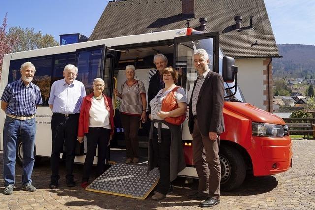 Leichter Einstieg in neuen Bürgerbus