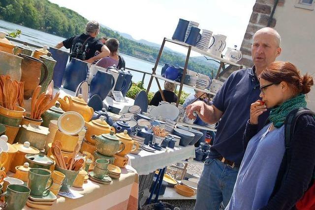 Ende April findet der Töpfer- und Künstlermarkt in Schloss Beuggen statt