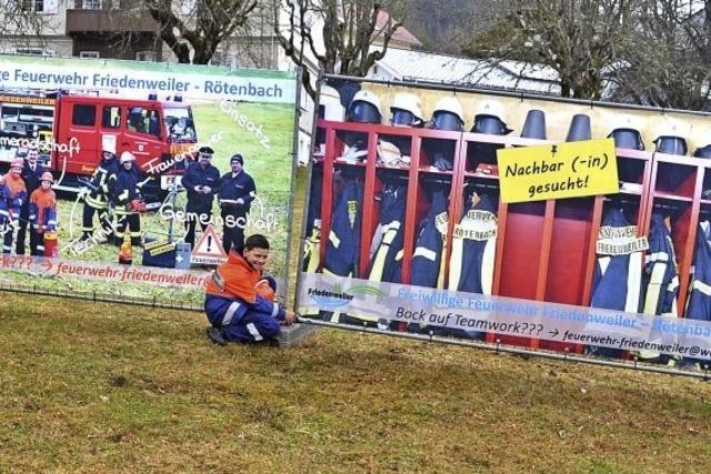 Feuerwehr wirbt mit neuen Ideen