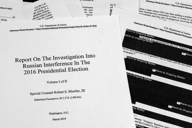 Der Mueller-Bericht kommt zu keinem klaren Urteil
