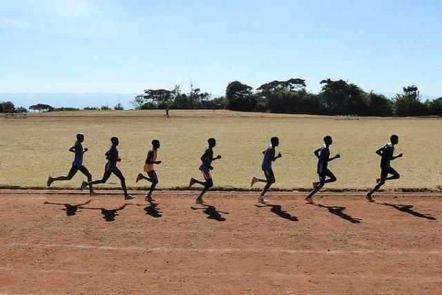 Der Doping-Verdacht läuft mit im Hochland Kenias