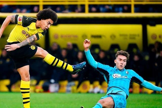 SC Freiburg hat gegen Dortmund Lust auf eine Überraschung