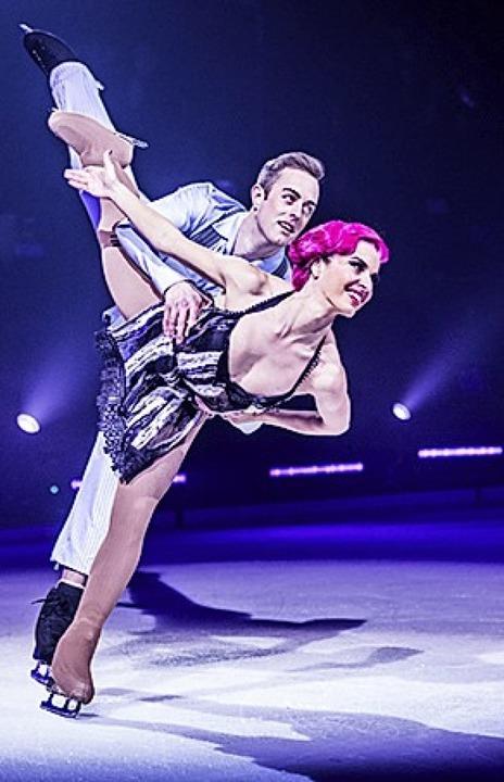 """Showtime"" präsentiert Perfektion auf Eis.  | Foto: Martin Miseré"