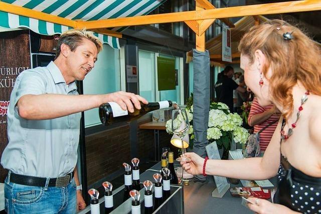 Bei der Weinmesse werden 77 Weine, Sekte und Seccos präsentiert