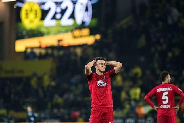SC Freiburg gegen Borussia Dortmund – die Historie in Bildern