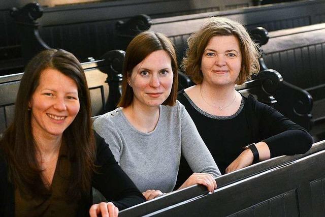 Berufsziel Pfarrerin: Drei Frauen haben in Freiburg ihr Vikariat begonnen