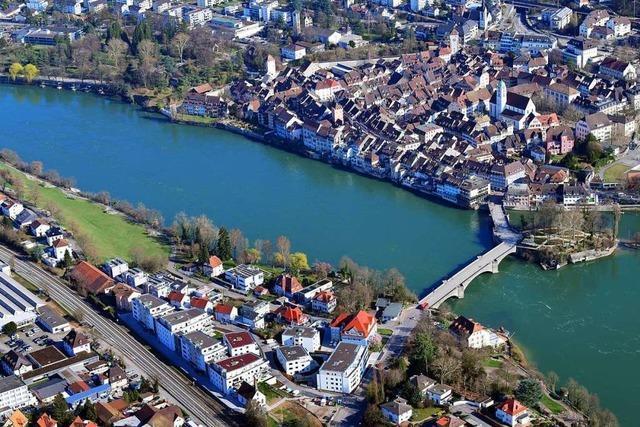 Die Bürger aus Rheinfelden/Schweiz dürfen nicht direkt über den Steg abstimmen