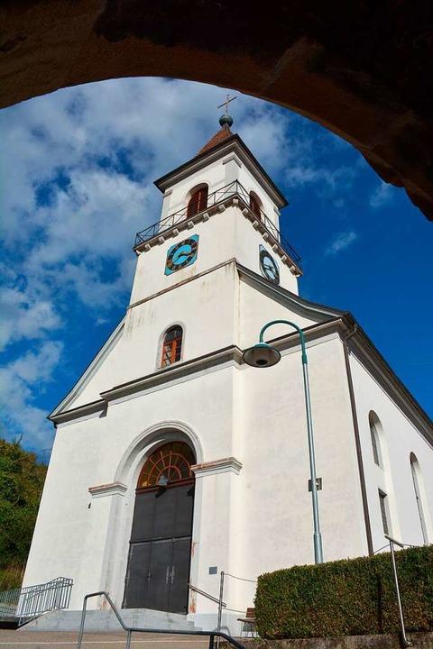 Die Kirche in Istein    Foto: Hannes Lauber