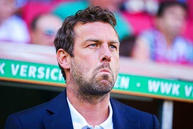 VfB Stuttgart feuert Trainer Weinzierl nach Augsburg-Blamage