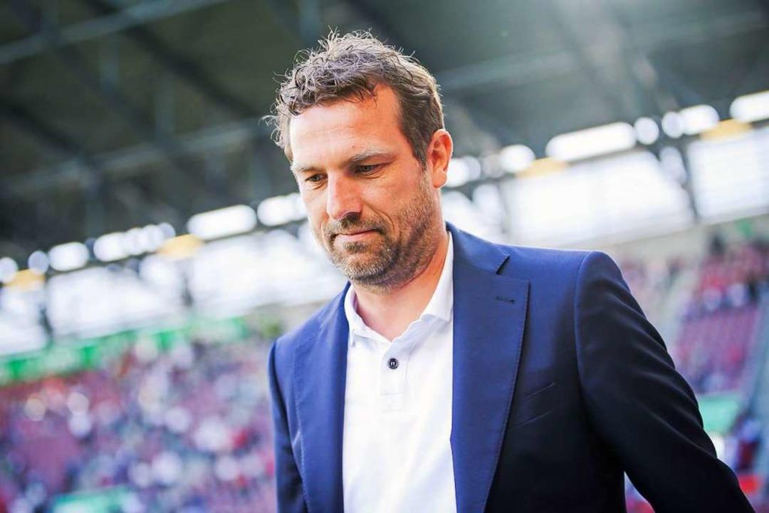 Verlässt die Trainerbank des VfB: Markus Weinzierl.  | Foto: dpa