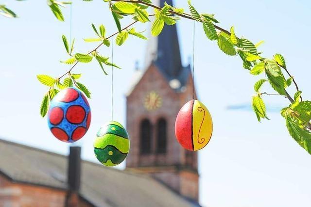 Wie feiern die Menschen im Wiesental Ostern?