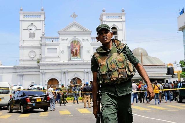 Mehr als 190 Tote nach Explosionen in Sri Lanka