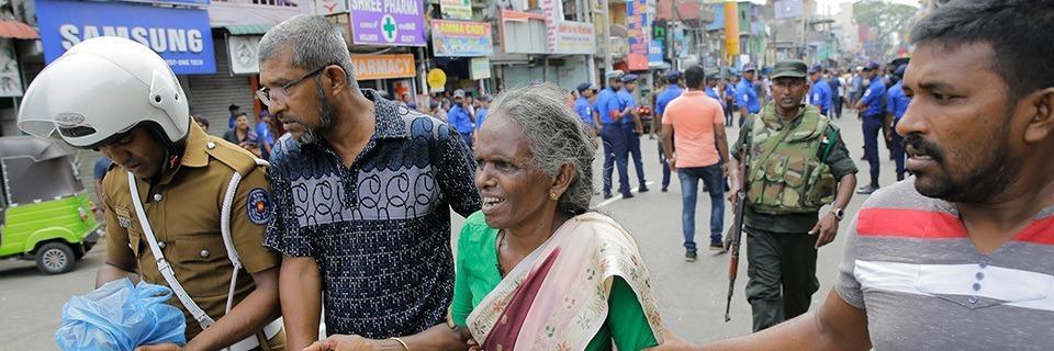 Mehr als 100 Tote nach Explosionen in Hotels und Kirchen in Sri Lanka