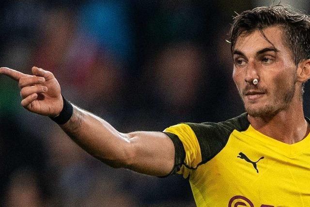 Ex-SC-Spieler Maximilian Philipp tut sich bei den Borussen schwer