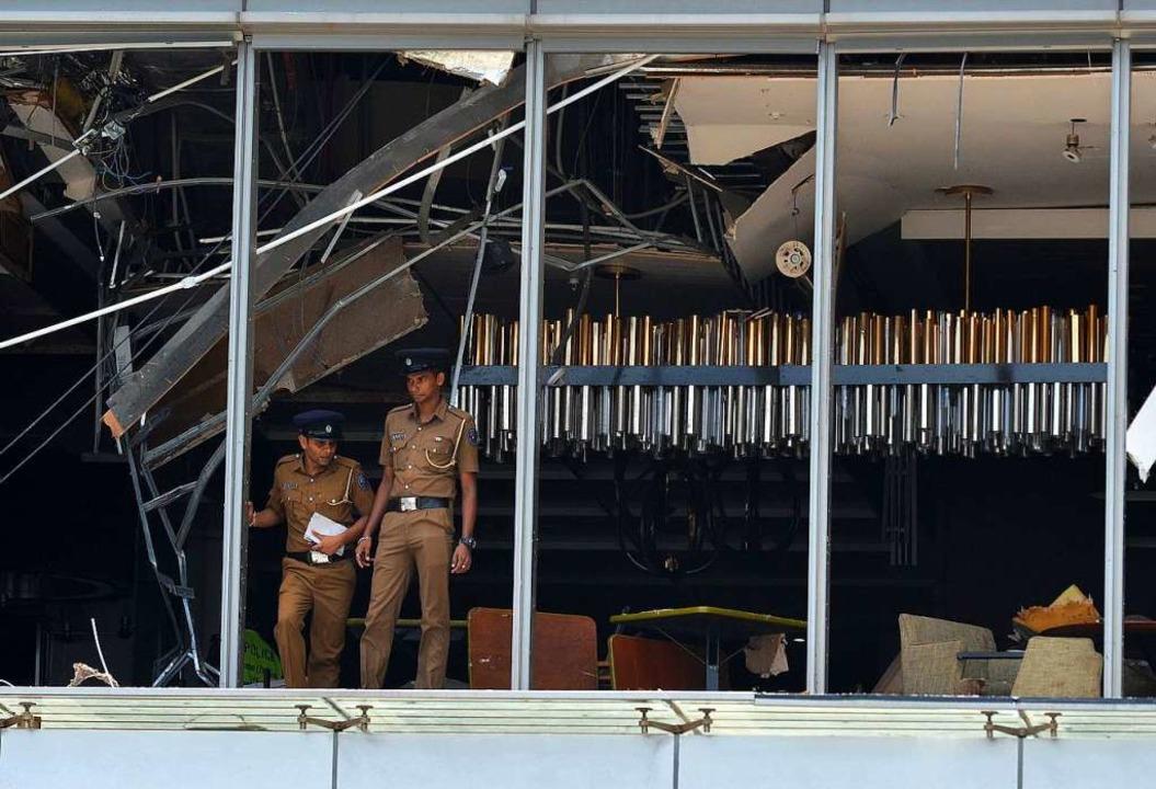 Auch Hotels waren das Ziel der mutmaßlichen Terroranschläge.  | Foto: AFP