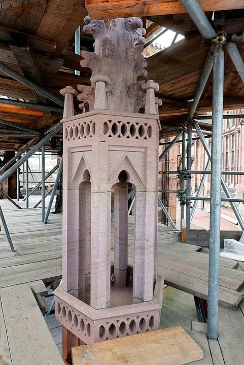Der Kapellenpfeiler ist wie neu.  | Foto: Thomas Kunz