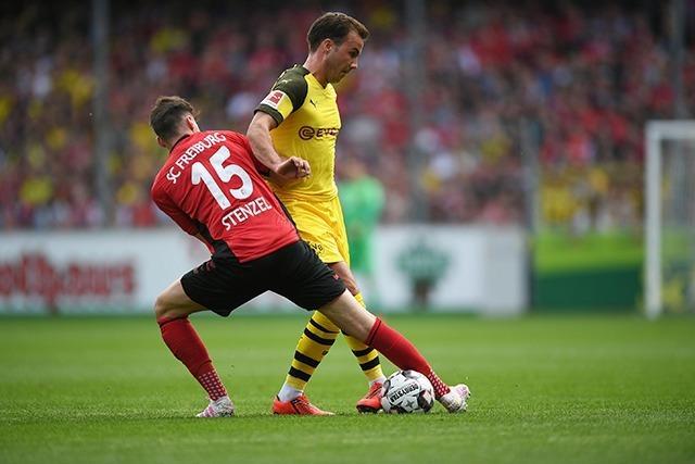 Akzeptable Freiburger Leistung reicht gegen Dortmund nicht