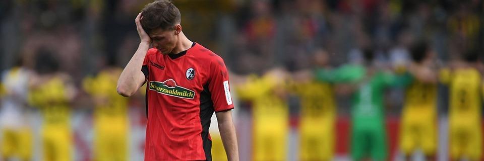 Der SC Freiburg kann gegen die individuelle Klasse des BVB nichts ausrichten