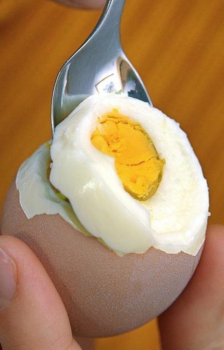 Hartgekochte Eier gibt es zu Ostern zuhauf.   | Foto: dpa