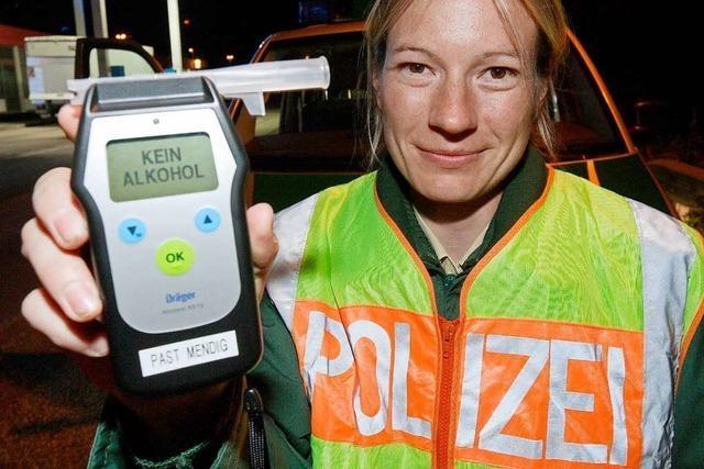 Rheinfelder Verkehrskontrolle beendet Promille-Tour