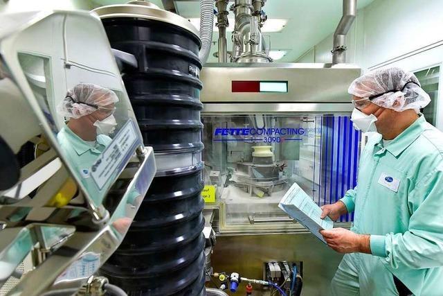Freiburger Arzneimittelhersteller Pfizer knackt die 1000-Mitarbeiter-Marke