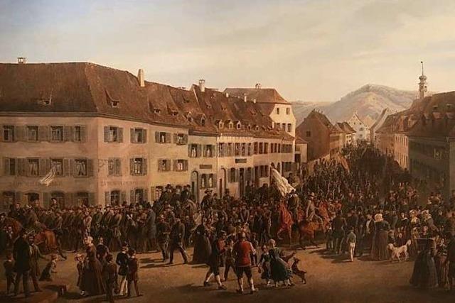 Friedrich Kaisers Gemälde entpuppt sich als Revolutionstheater