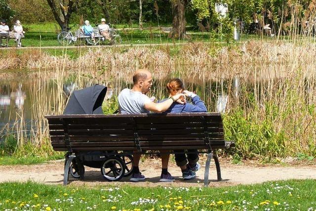 An Ostern war im Lörracher Grüttpark jede Menge los