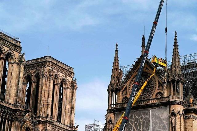 Experten mahnen, den Wiederaufbau von Notre-Dame nicht zu überstürzen