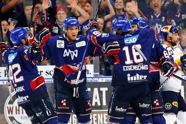 Nach dem 4:1-Heimsieg liegt Mannheim in der Final-Serie vorne