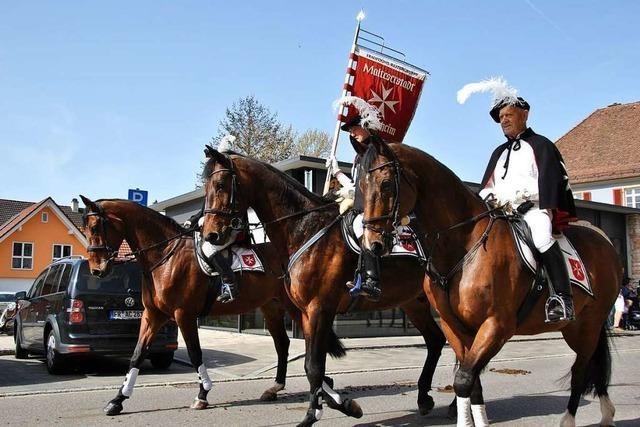 Nur 38 Reiter kommen zum traditionellen Georgsritt nach Ehrenkirchen