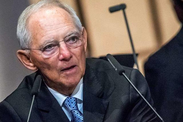Schäuble: AfD hat keinen Rechtsanspruch auf Bundestags-Vize
