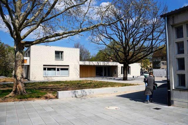 Das neue Pfarramt der evangelische Pfarrgemeinde West ist fertig