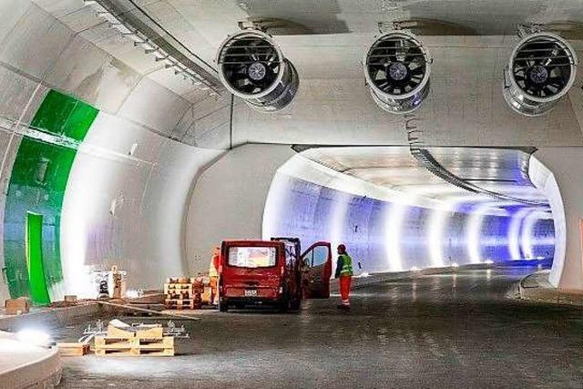 Pünktlich fertig und billiger als geplant: Der neue Tunnel am Rheinfall