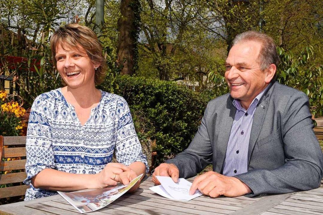 Martina Hunn und Edgar Bärmann  | Foto: Thomas Kunz