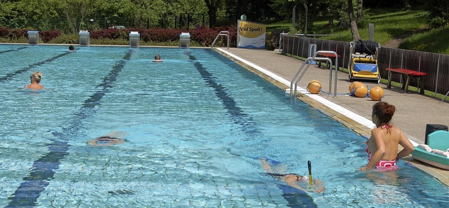 Weiterhin geschätzt und gut genutzt wi...eibad, um das sich der Verein kümmert. | Foto: Claudia Renk