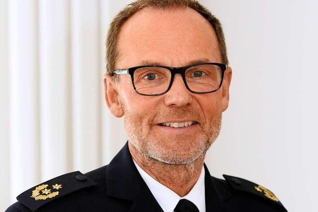 Freiburgs neuer Polizeipräsident: