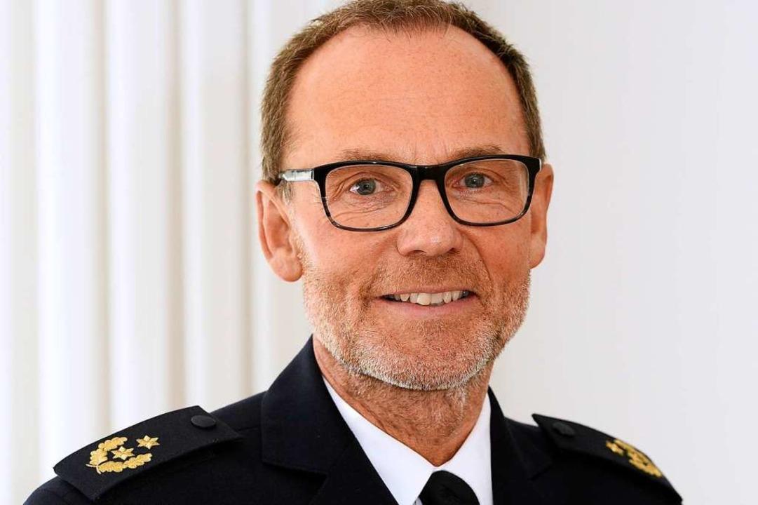 Franz Semling war zuletzt Vizepräsiden...Chef des Freiburger Polizeipräsidiums.  | Foto: Thomas Kunz