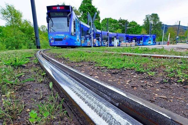 Freiburger Verkehrs-AG stoppt Turbo-Gleis-Verschleiß