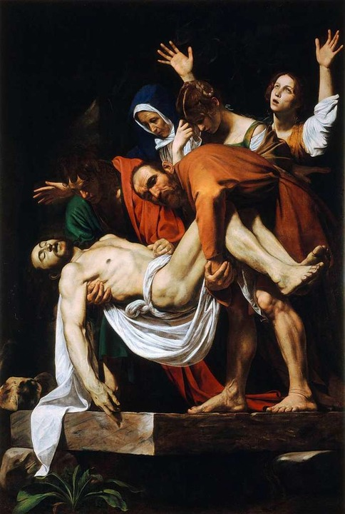 "Caravaggio, ""Grablegung Christi"" (ohne Jahresangabe)  | Foto: Scala"