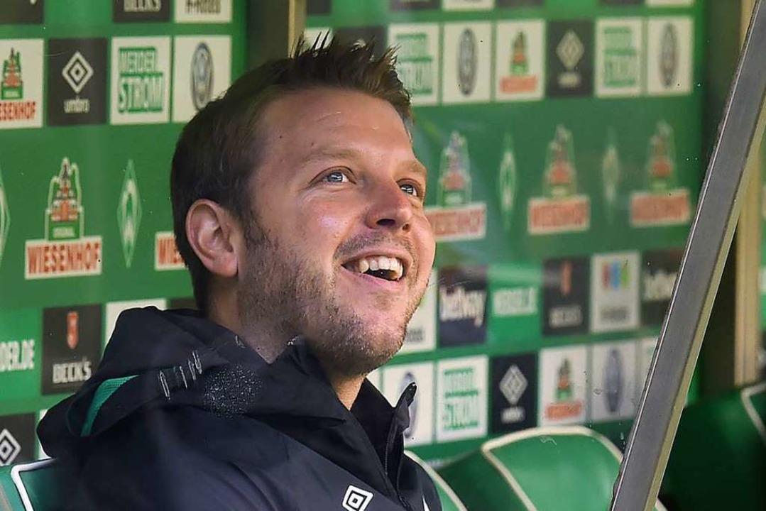 Hat nichts zu verlieren, kann aber vie...innen: Werder-Trainer Florian Kohfeldt  | Foto: dpa