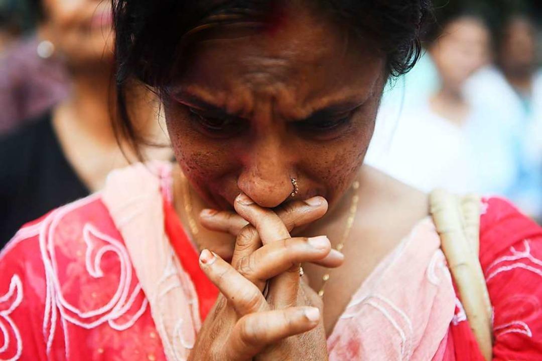 Trauer in Sri Lanka  | Foto: AFP