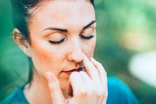 Atemübungen können gegen Stress helfen – wenn man nicht gleich wieder aufgibt