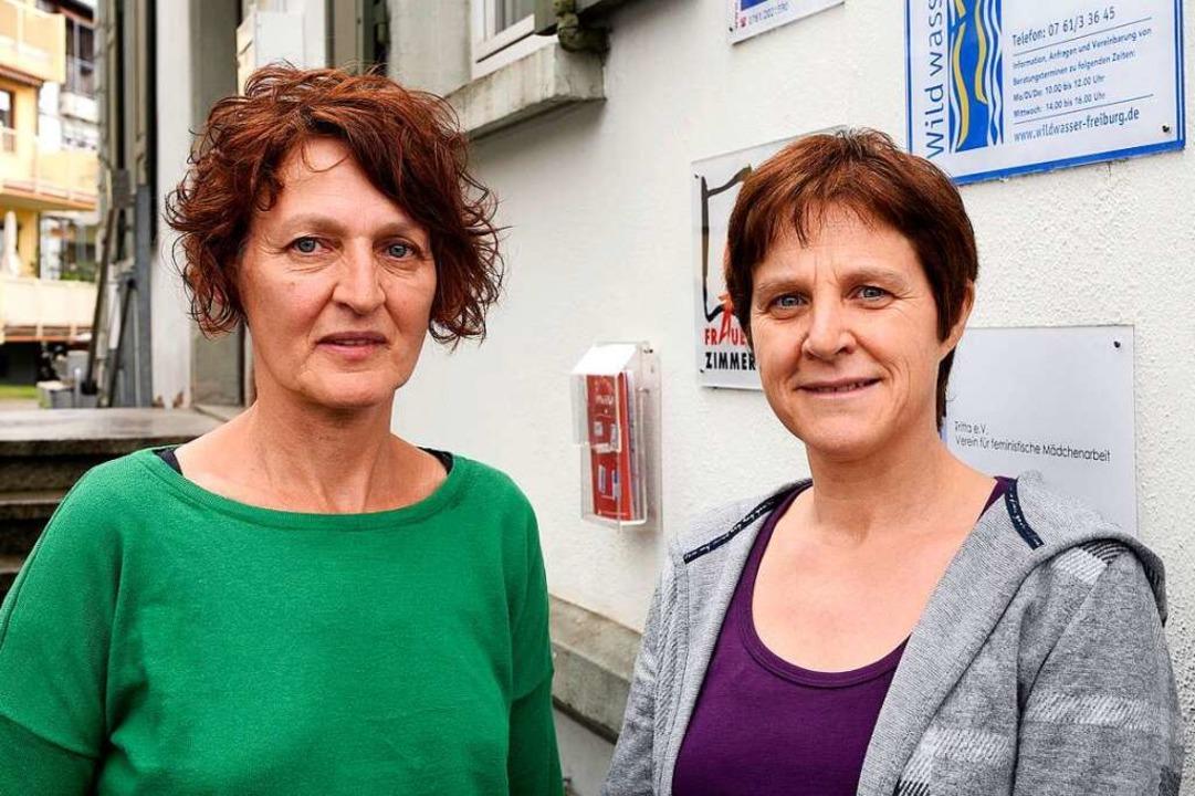 Beate Biederbick (links) und Susanne Strigel  | Foto: Thomas Kunz