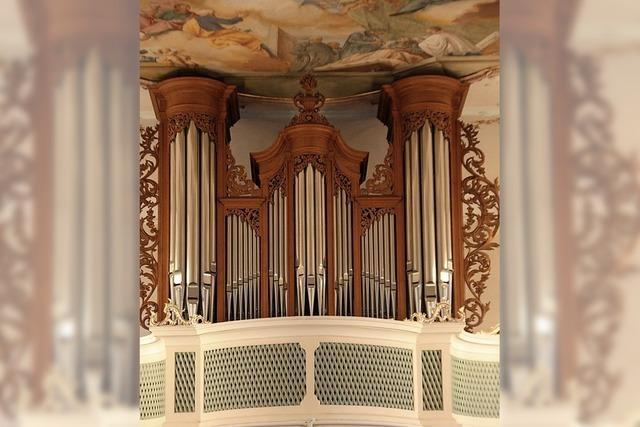 Große Instrumente: Orgel und Tuba erklingen bei