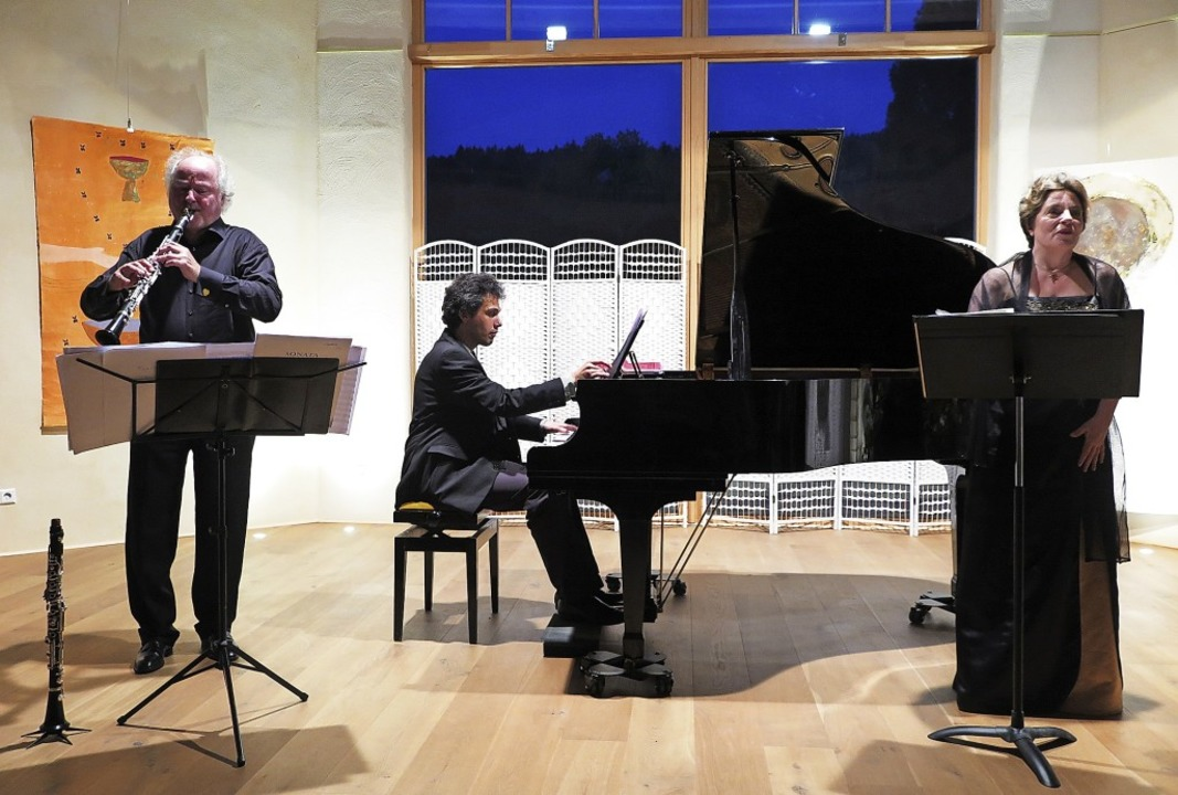 Glanzvoller Kammermusikabend im Laufen...a-Reyss und Julia Thornton (von links)  | Foto: Dorothee Philipp