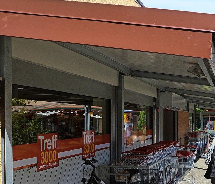 Treff 3000 verschwindet, die Nahversor...hbarschaftsmarkt soll sie übernehmen.   | Foto: Gerhard Walser