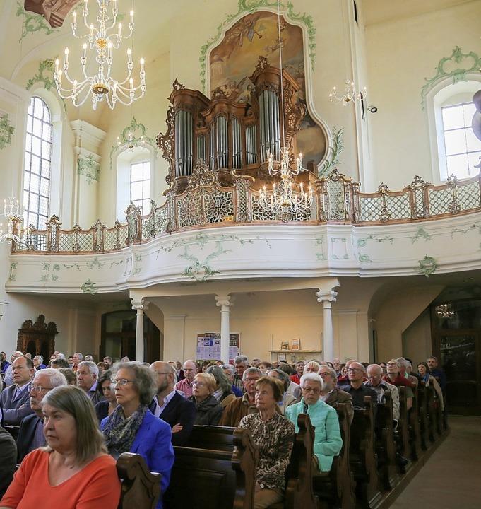 Etwa 220 Menschen kamen zum Konzert.   | Foto: Sandra Decoux-Kone