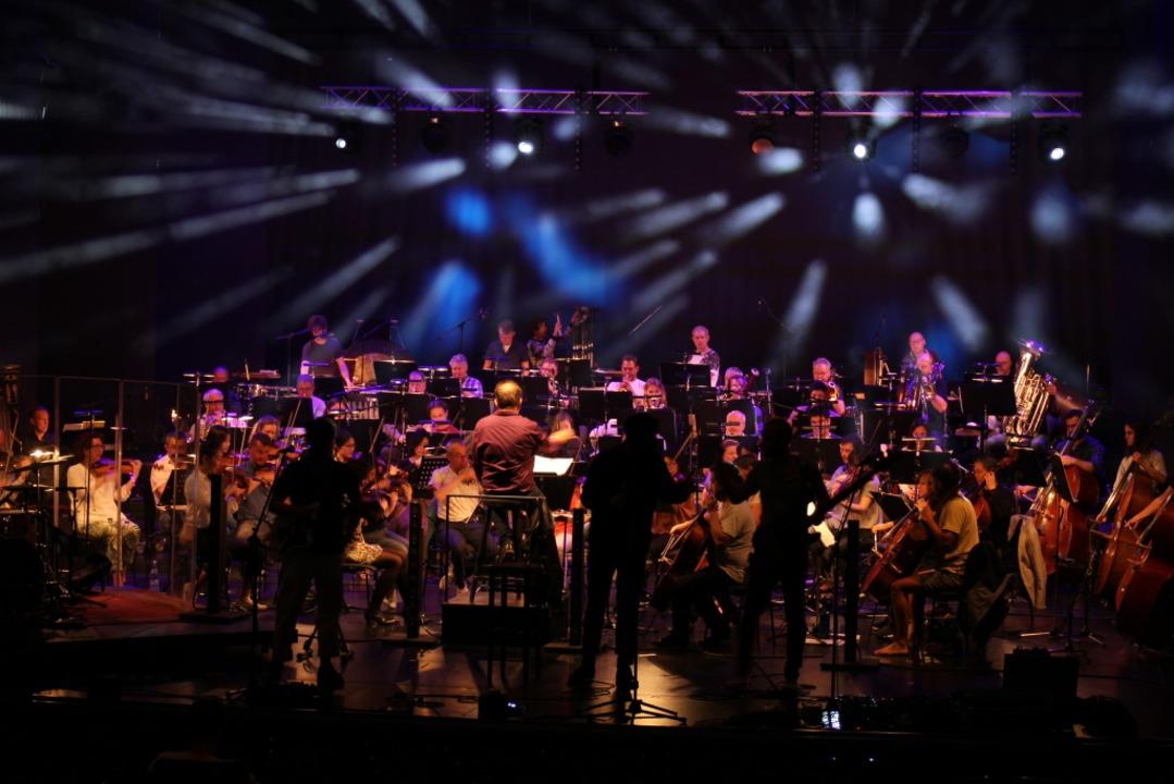 Otto Normal und das Philharmonische Orchester bei der Hauptprobe im Großen Haus  | Foto: Anika Maldacker