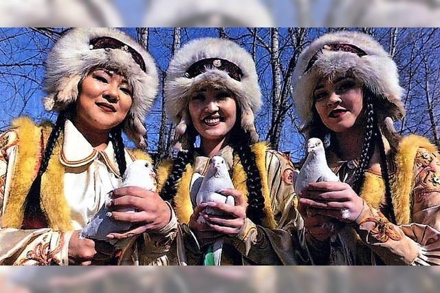 Morgen Abend: Schöne Bilder aus Sibirien