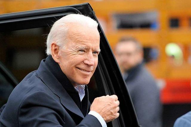 Auch Joe Biden will US-Präsident werden